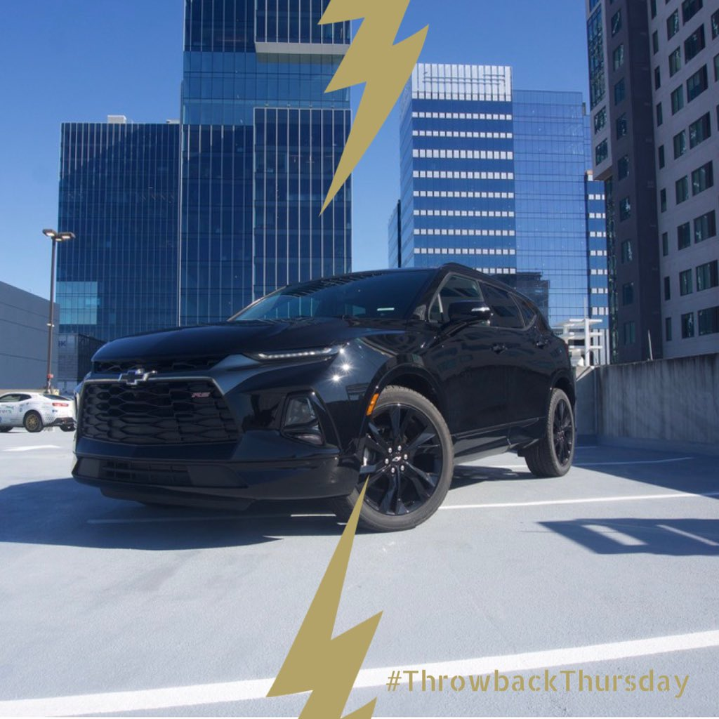 Here's a little #throwbackthursday for ya! ⚡️ • • • #throwbackthursday #ecocar #blazer #hybrid #tbt #chevrolet #generalmotors https://t.co/W8uzXnDnAq