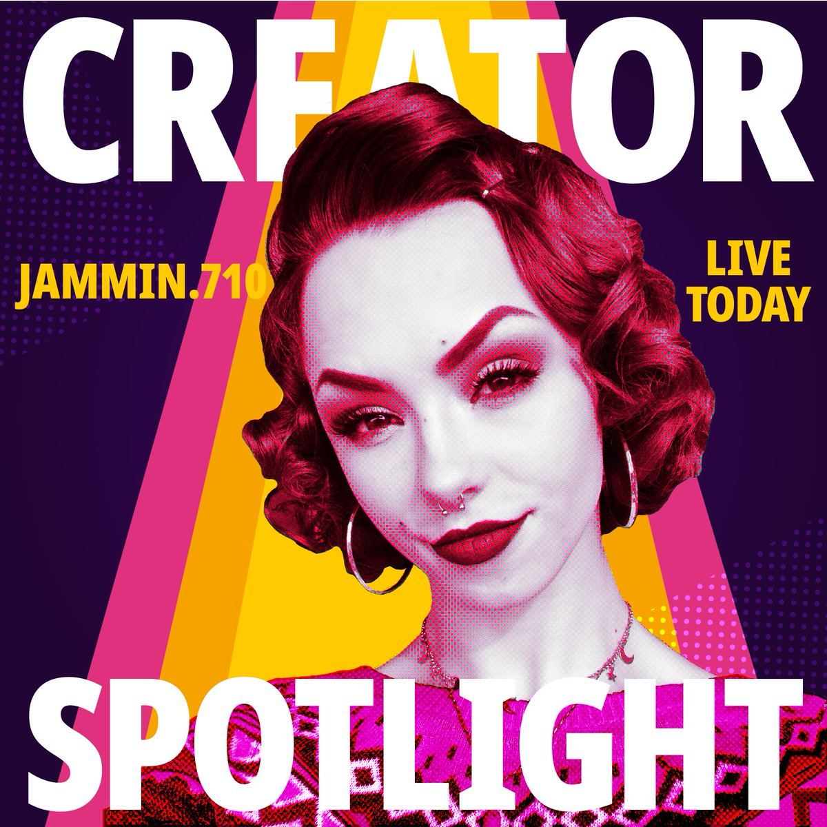 For our Creator of the Week, we are excited to announce for it to be Jammin.710💜beauty queen👑 Known for her creative makeup looks and style! Catch her on IG live tonight with President @MakaylaWGVS🙎🏻‍♀️ at 6 PM. #InstagramLive #makeup #beautytips