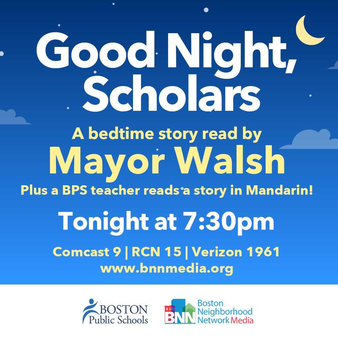 Bostonpublicschools On Twitter Mayor Marty Walsh Is The Guest Reader On Good Night Scholars On Bnn Television He Ll Be Reading How Do Dinosaurs Say Good Night Plus Hkentschool Teacher Ms Hsu Shares A Story