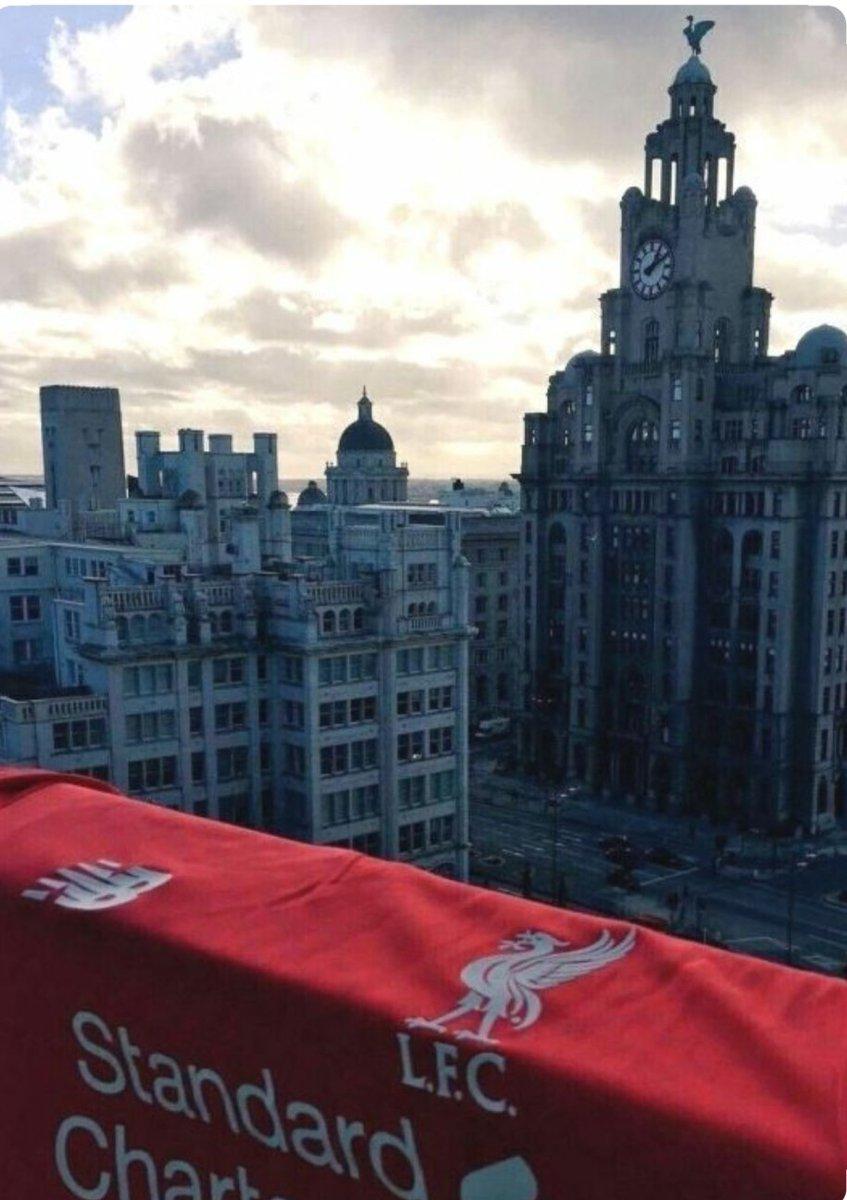Love my city and my club #Liverpool ❤️