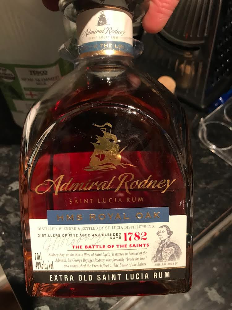 Tonight's rum recommendation is this beautiful toffee-ish number from St Lucia, it's what lockdowns are made for.