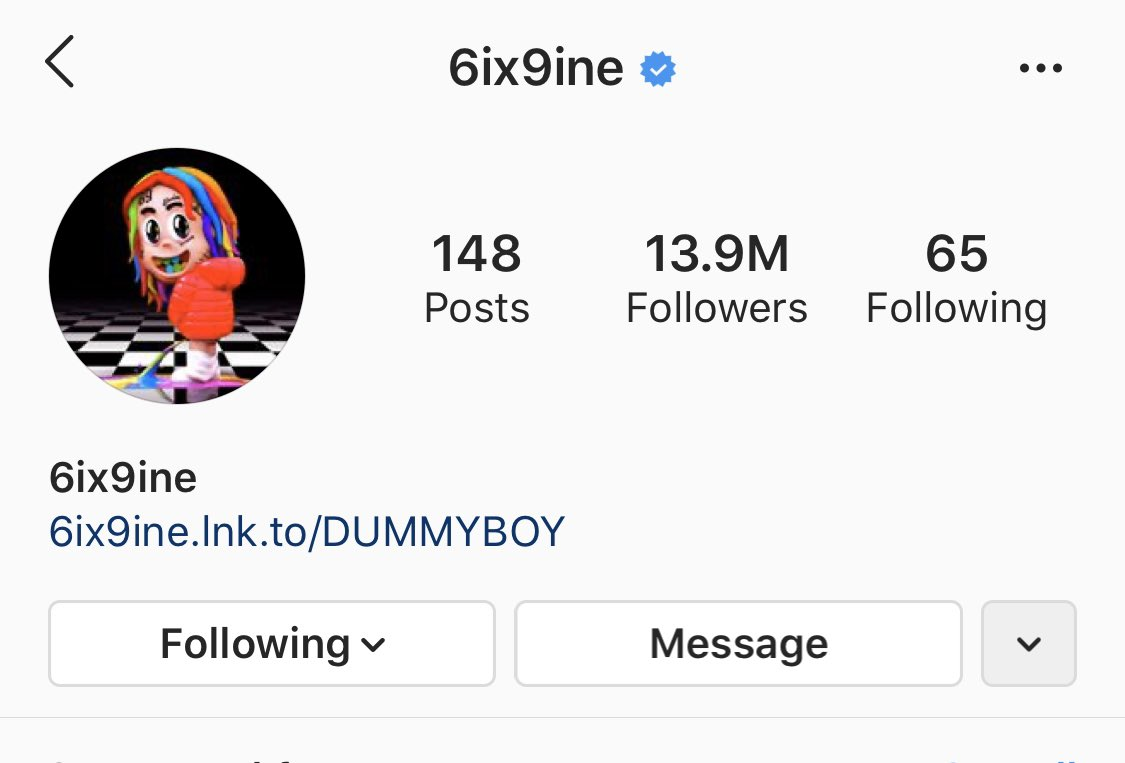 6ix9ine out of jail? Say less