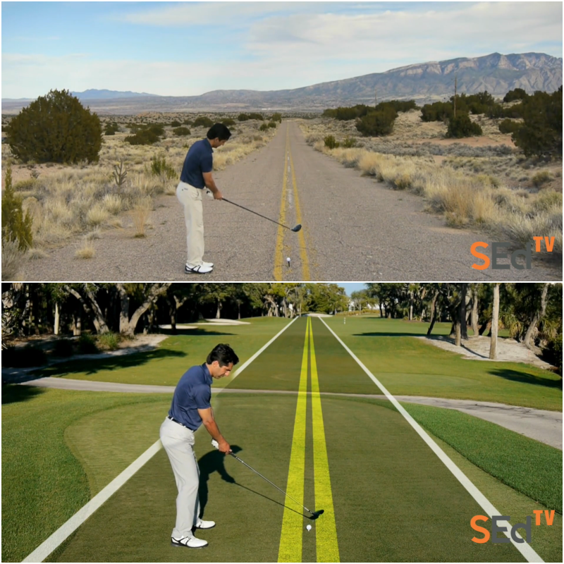 Proper alignment ensures all the energy you generate is applied squarely to the ball, sending it successfully in your intended direction. Learn this amazing visualization technique for aligning your shots!  https://bit.ly/2UUhFvD pic.twitter.com/13SuaGl28w
