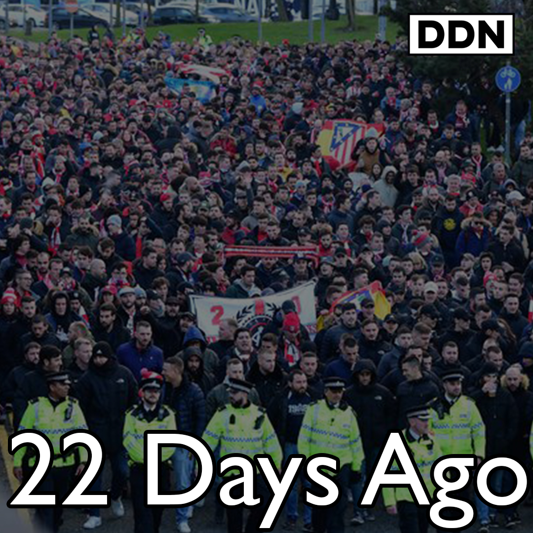 21 deaths in Liverpool in last 24hrs 22 days ago 3,000 Madrid fans came to Anfield  Watch full film: https://youtu.be/aIoOSyRNryw