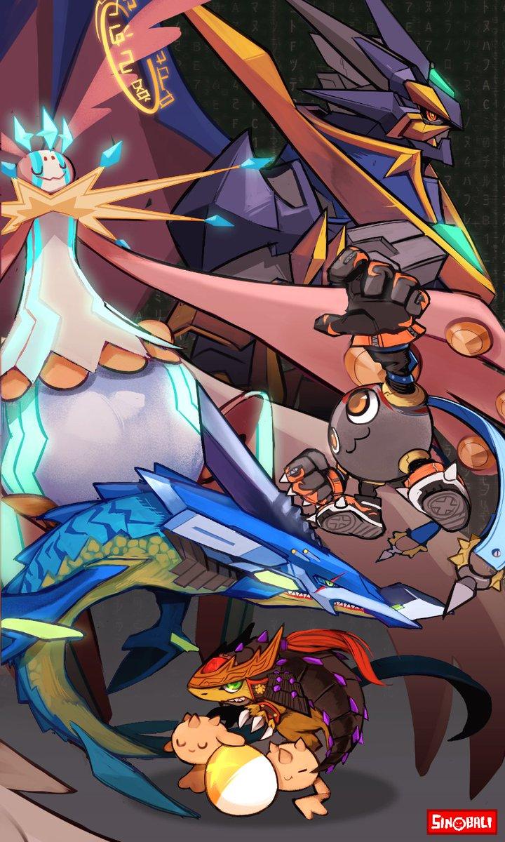 Digimon X- Antibody Random Evolution. <br>http://pic.twitter.com/j3dw9x6cG5