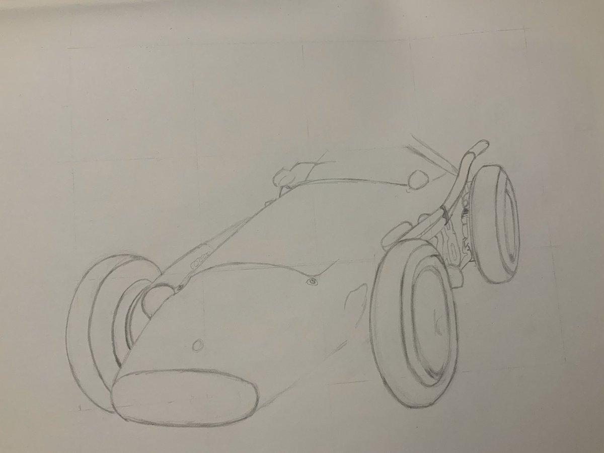 Making a start on the Maserati... @Maserati_HQ #autoart #Pencildrawing #freehand pic.twitter.com/cLoVZypbnJ