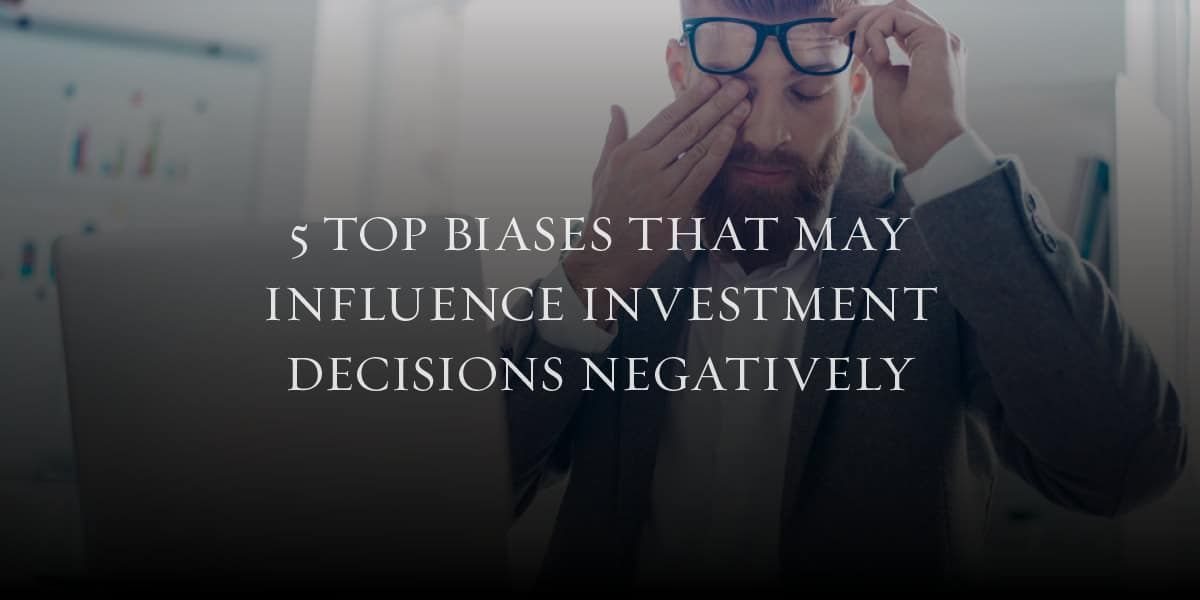 What are the most common financial biases that can influence an investment decision? #investment #investmentdecision #financialplanning #investmentservices #nearme  #pearlriver #ny #newyorkcompany #hudsoncompanies  https:// buff.ly/2RnKhuI    <br>http://pic.twitter.com/j3iC1mawqr