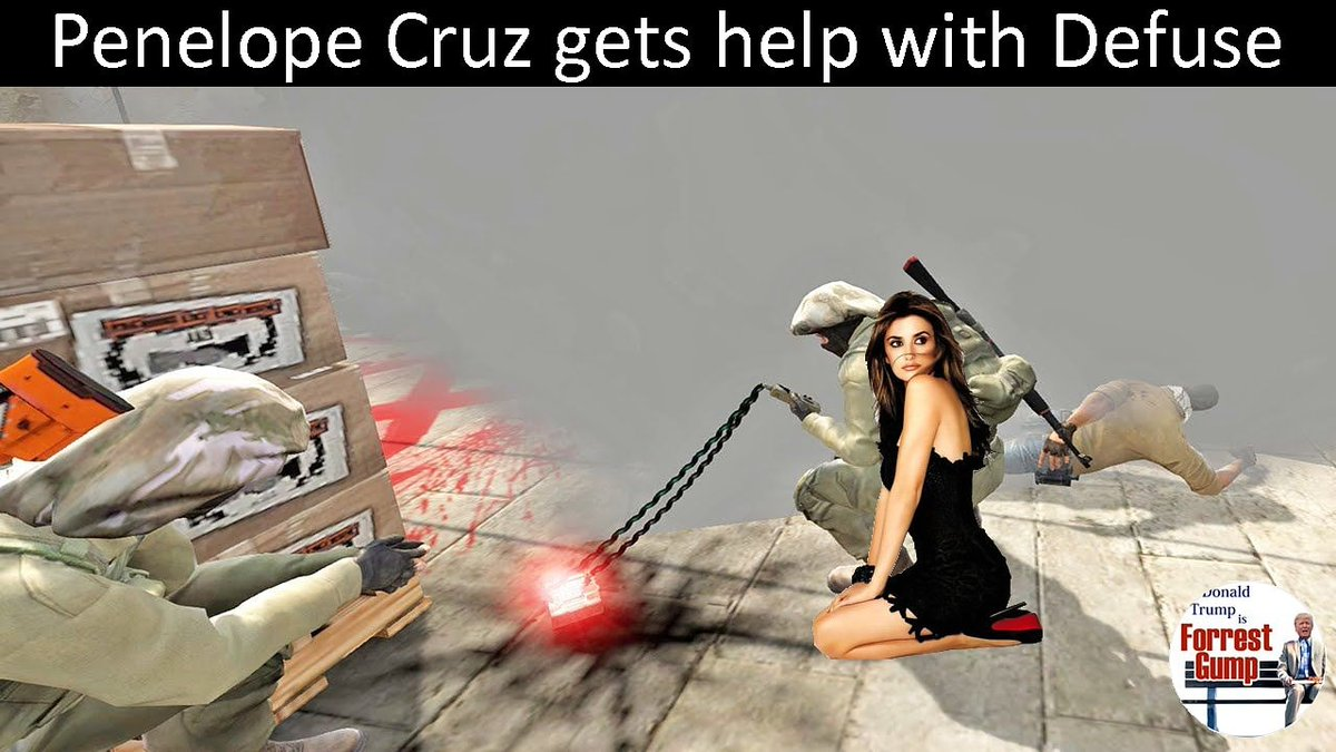 Penelope Cruz gets help with Defuse https://www.instagram.com/p/B-foAQuogjx/   #PenelopeCruz #csgo #csgomemes #counterstrike #beautiful #gaming #latina #defuse #smoke  #ctwin #backup #defusekit #highheels #blackdress #onherknees #ontheground #just4fun #justforfun #meme #memesofinstagram pic.twitter.com/jnvj1DTSAE