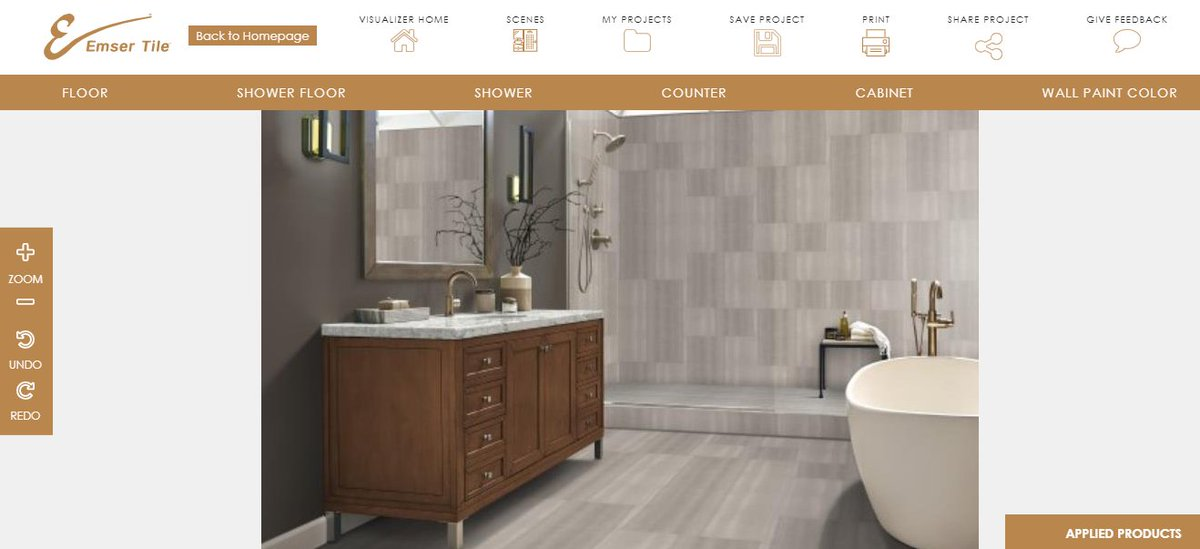 Have a tile in mind, but need an idea on how it will look for an upcoming project? Check out our project visualizer where you can select any of our tiles and grout colors and see them in a variety of applications: https://t.co/G5Ft8uzrMc #EmserTile https://t.co/og4YXe5VbU