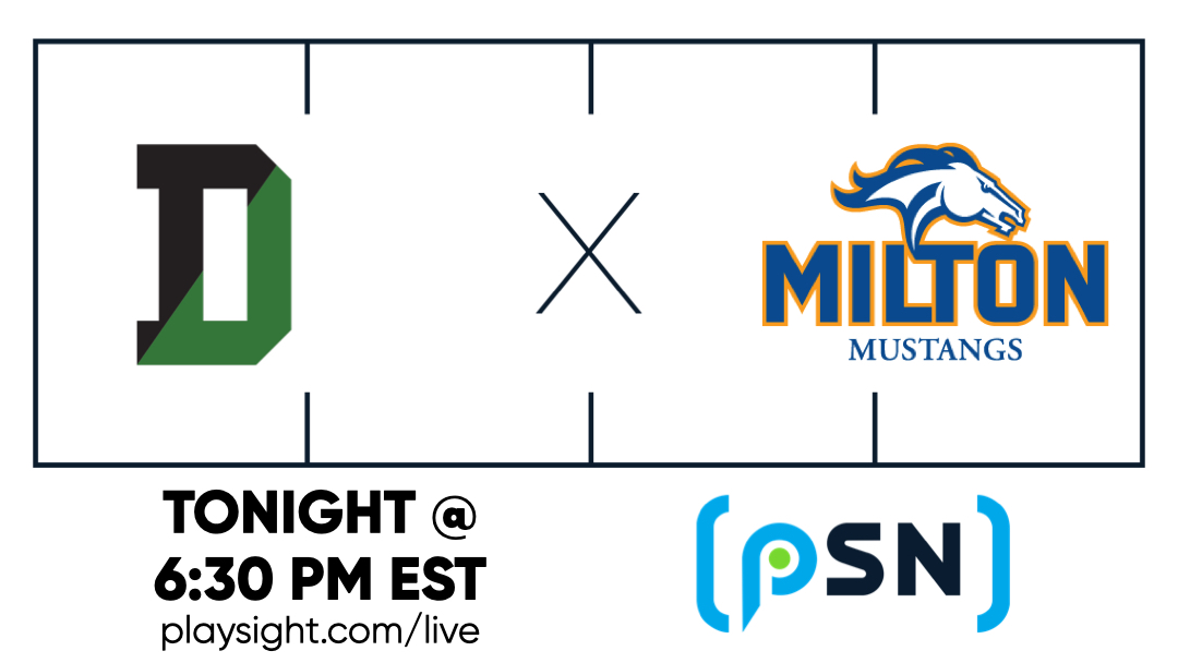 Kick off in less than 30! Craving some football? Weve got you covered tonight on the PSN => playsight.com/live @Deerfieldteams @DABigGreenFB @MA_Fball @MA_Athletics