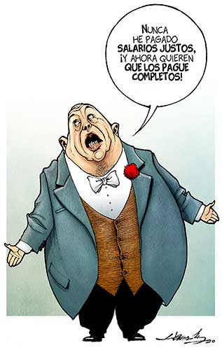 RT @lajornadaonline: #MonerosLaJornada No abusen, cartón de @monerohernandez   https://t.co/O5Y1x0kFHl https://t.co/CQDkt4Tb18