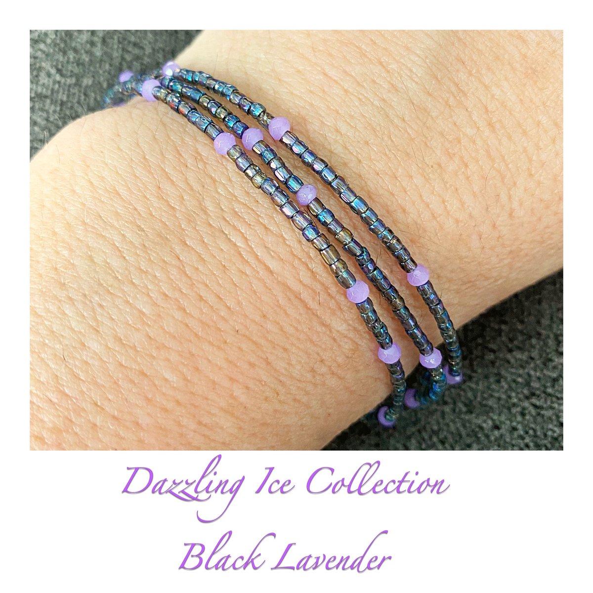 Dazzling Ice Collection ~ Black Lavender Wrap Bracelet https://www.etsy.com/listing/777767858/dazzling-ice-collection-black-lavender… #newarrival #etsy #etsysuccess #lunabyrachel #noclaspjewelry #dazzlingicecollection #shopsmallbiz #standwithsmallpic.twitter.com/1VkdSVQPwy