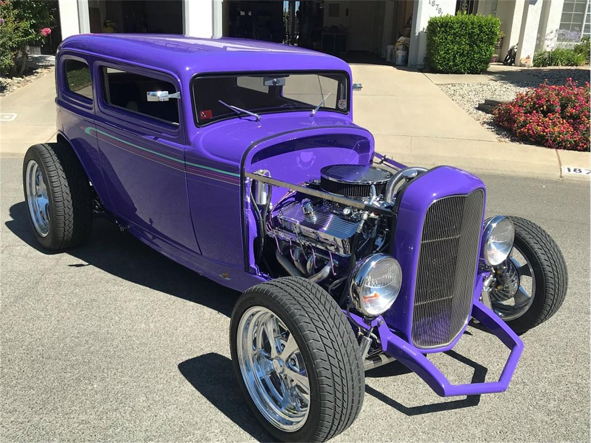 1932 Ford Victoria ... PPG Purple Velvet Base Coat/Clear Coat Paint ... 454 Chevy Big Block ... <br>http://pic.twitter.com/h8tpGYDx9V