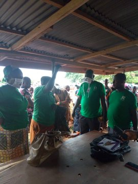 Payment at Ayamelum Local Government Area, Anambra State