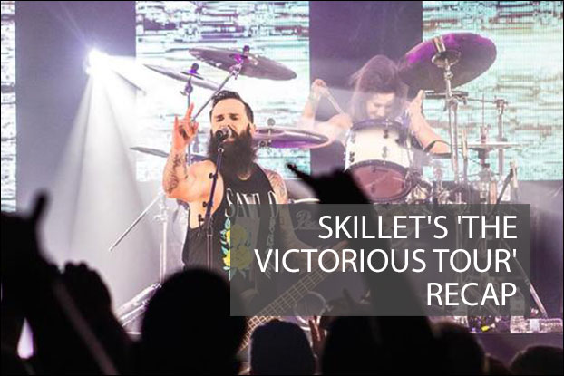 CONCERT REVIEW: We saw Skillet Music at their recent 'Victorious' concert (remember those?) and were amazed they were just as powerful in a smaller venue than on a big festival stage. Read our review here: https://t.co/sWPSL5wNlD https://t.co/jf6EjXEMlm