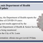 Image for the Tweet beginning: Latest #COVID19 cases from @CityofSTLDOH...  WITH