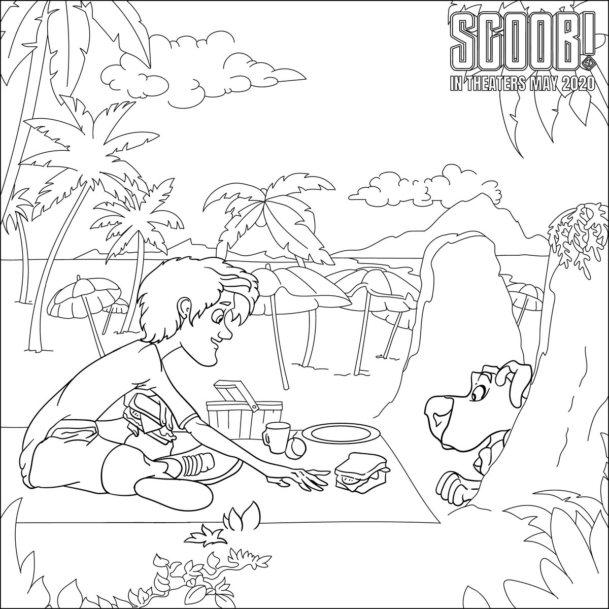 Emagine Theatres On Twitter Keep The Kiddos And Yourself Occuppied With These Scoob Coloring Pages Feel Free To Show Off Your Masterpieces Below Https T Co Qzsrcgplri