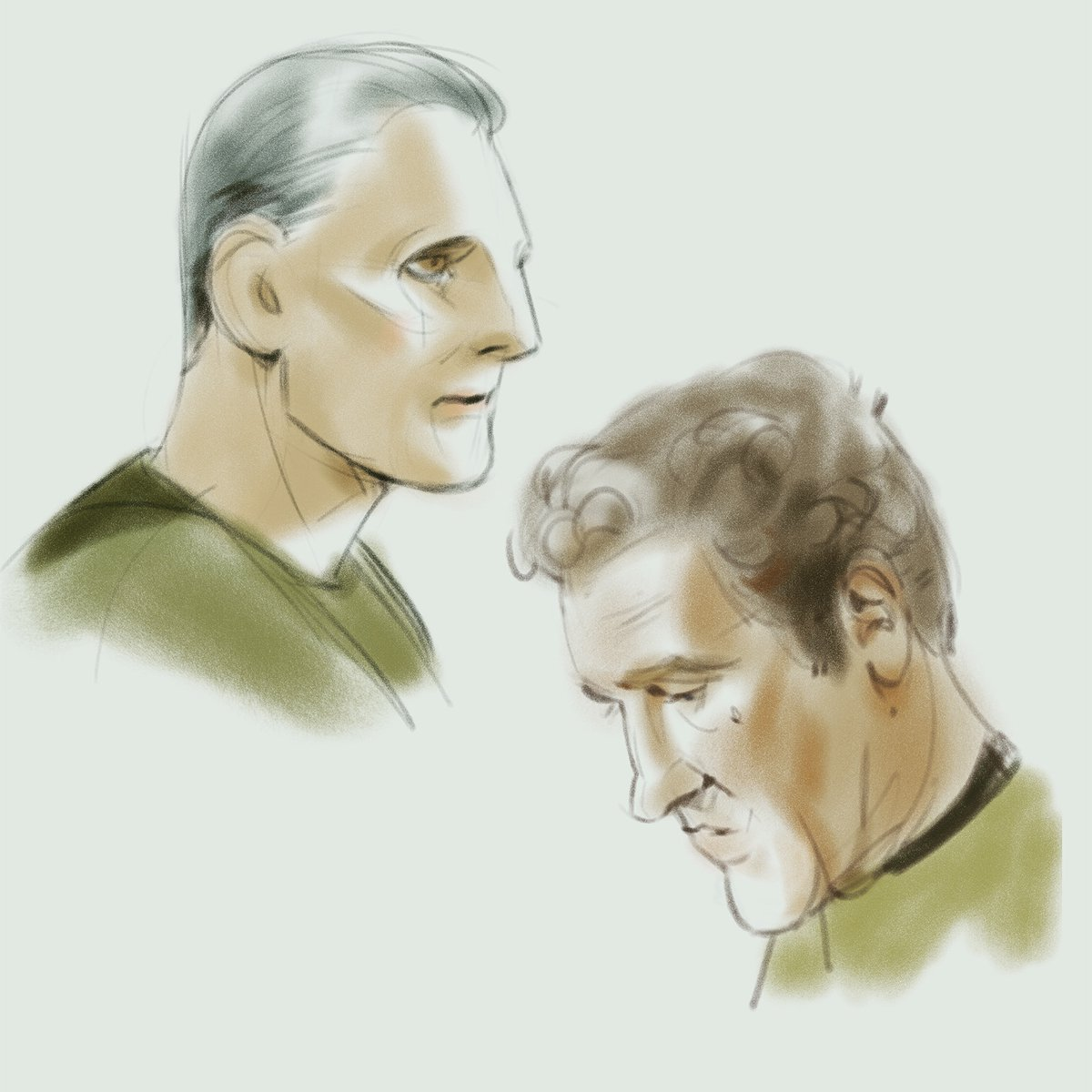 Started watching Star Trek DS9 for moral support