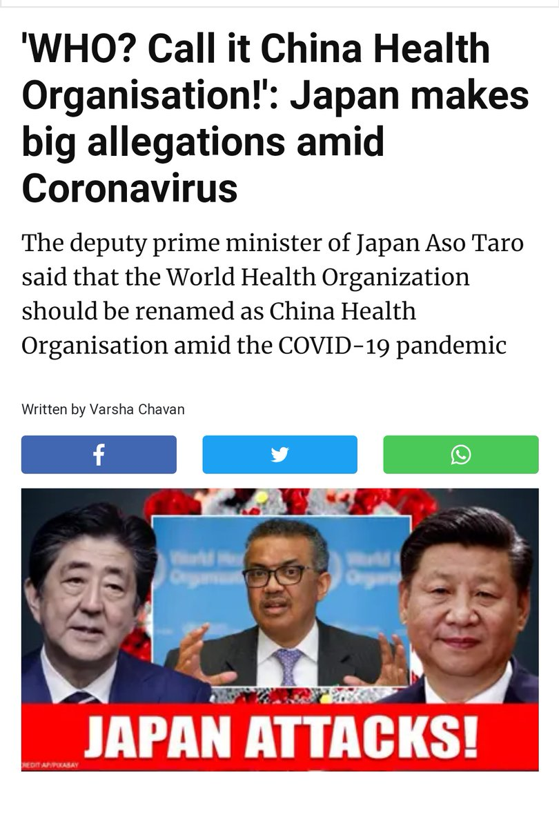 RT @abdullah_0mar: Japan big and bold statement against #ChineseVirus19 👏🙌 https://t.co/hJyM2PJ7hX
