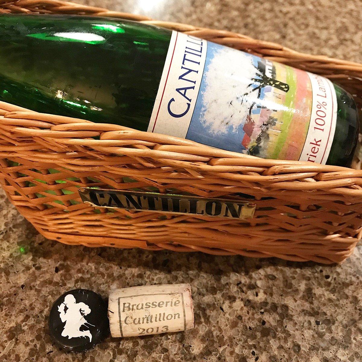 Pandemic rhymes with lambic soooooo #cantillon #2013 #kriek #lambic #beer #biere #belgique #belgique#Belgium #sour #beernerd #cerise #brewerycantillon #brasseriecantillonpic.twitter.com/kSEaxQpLn5