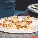 Imagen para el comienzo del Tweet: ¿No son las mini hamburguesas las mejores?