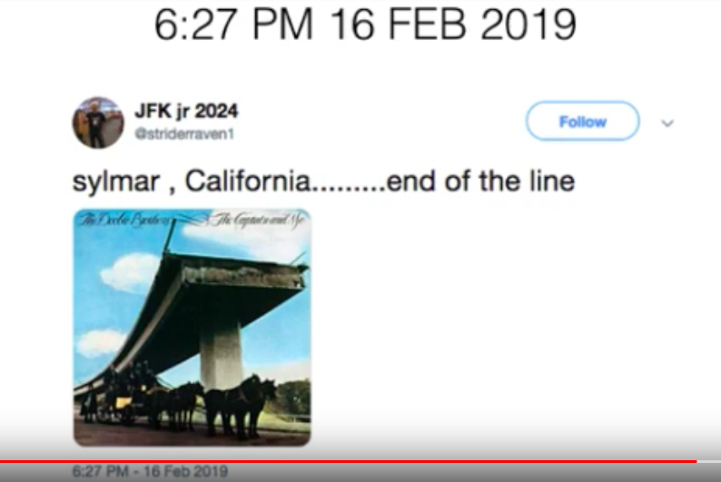 #AskGovNewsom Last stop of where the last fire was..and this is on the map of the fires. Dems u need to wakeup.