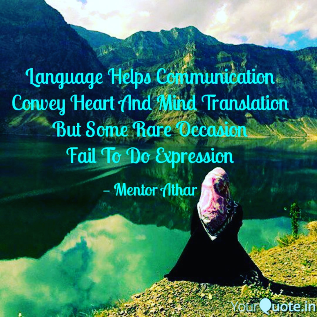 #language  #3544poem #yqbaba  #yqbabachallenge   Language Helps Communication Convey Heart And Mind Translation But Some Rare Occasion Fail To Do Expression  #mentorathar   Follow me on Instagram! Username: mentorathar https://www.instagram.com/mentorathar pic.twitter.com/1EQWHRE2yO