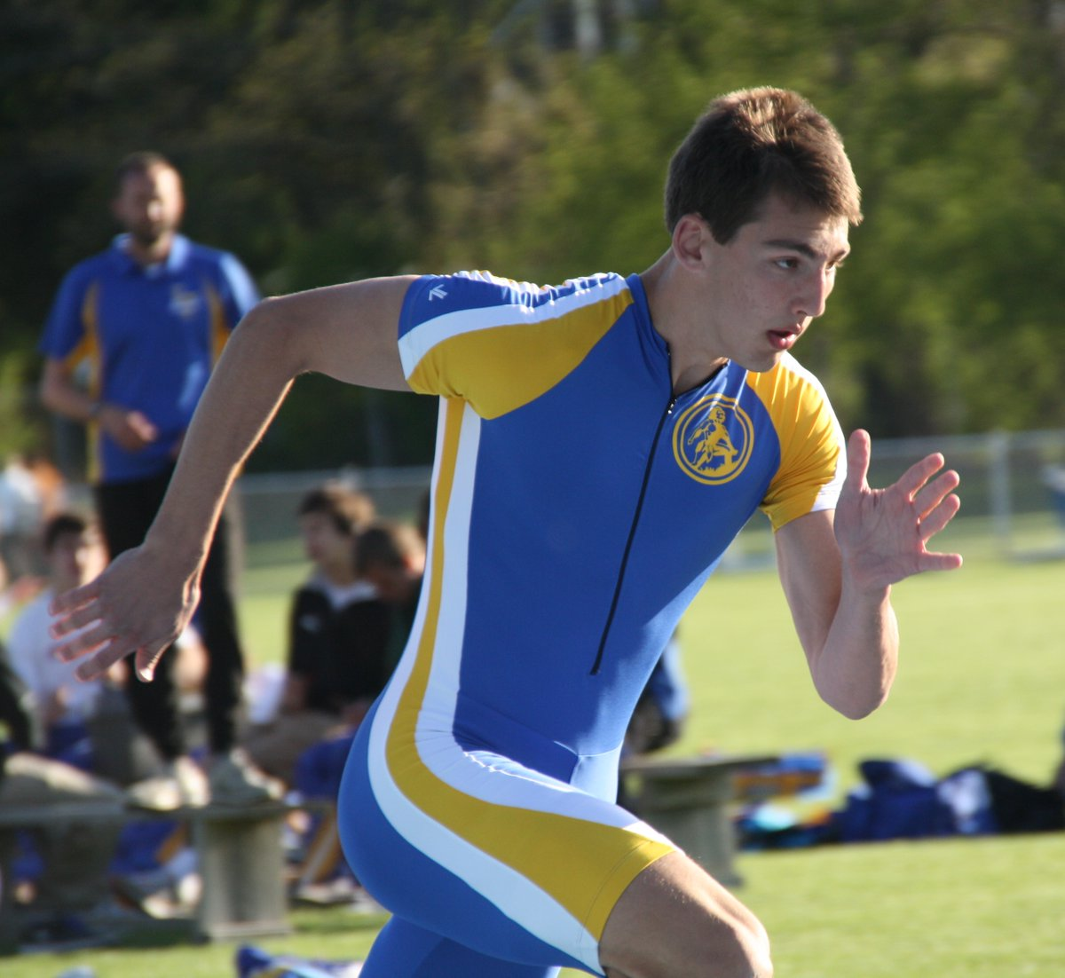 Can't forget the anchor leg of our first State qualifying 4x100m Relay. Nick Giordano was a 200m/400m specialist who also brought us home in the 4x100m. pic.twitter.com/ezZCYyvq0T
