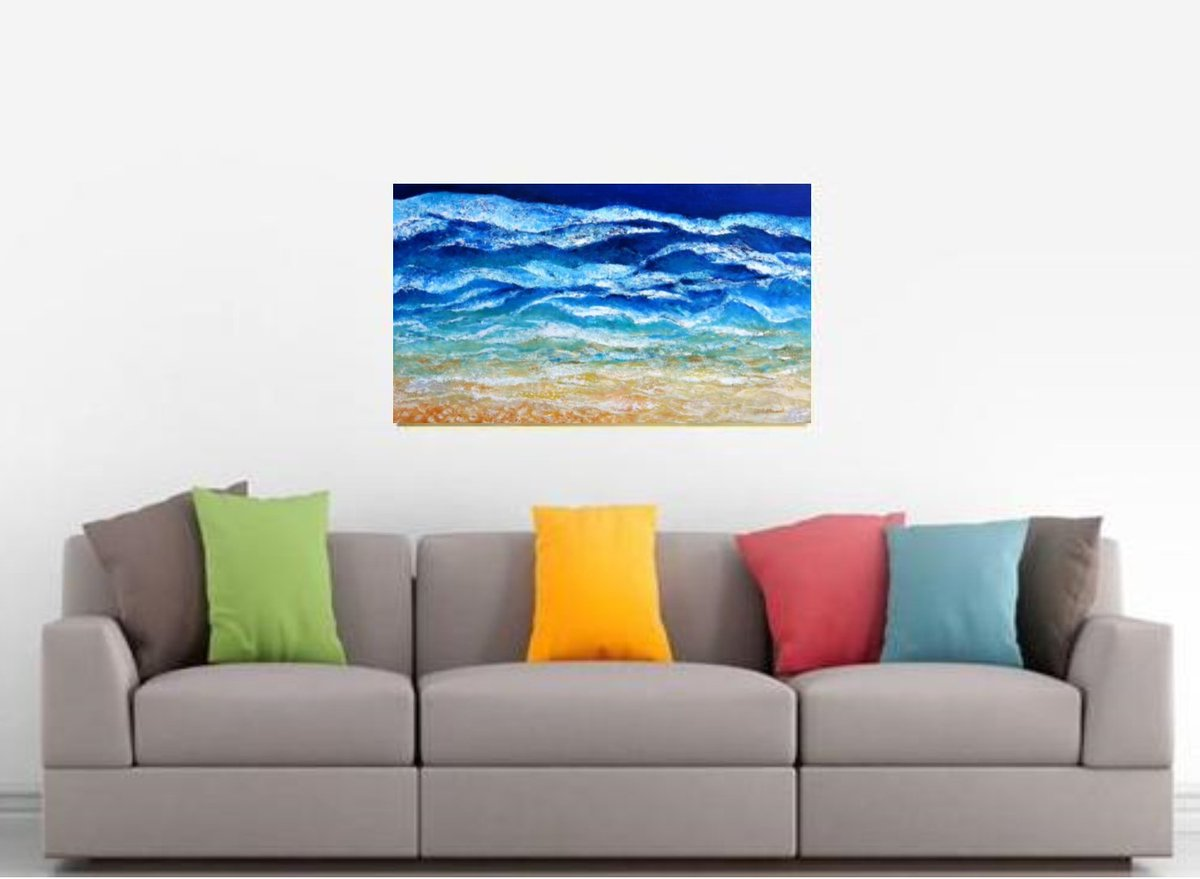 Are you missing the #beach #Australia #thisisqueensland - #ocean #waves #surf  FREE DELIVERY IN AUSTRALIA
