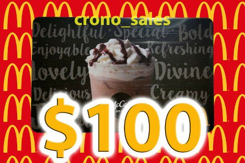 DISCOUNT $90.0 $100 McDonald's Gift Card - Free Priority Mail Shipping! #Voucher #fancamsareoverparty https://bit.ly/39EMOsn
