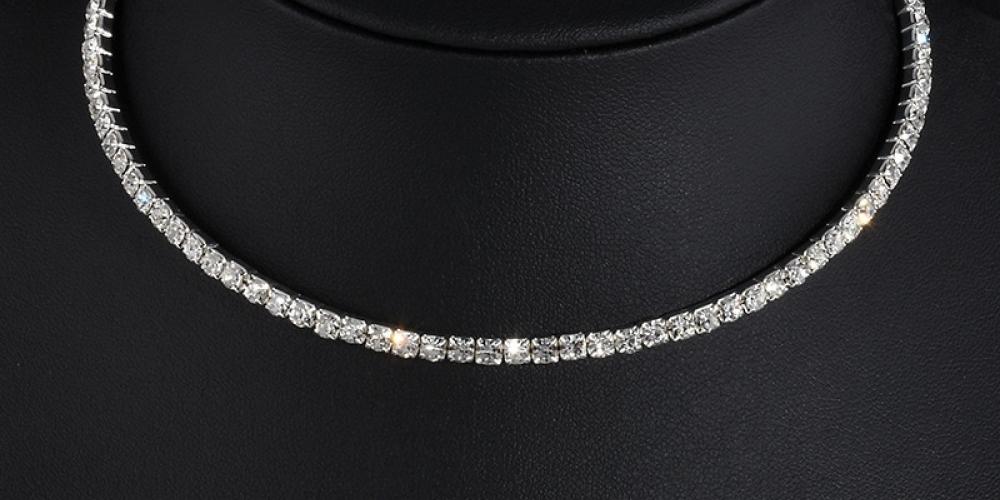 #Chain #Fashionaccessory #Jewellery #Necklace #Silver #Metal #Bodyjewelry #Choker   Online, always cheaper!