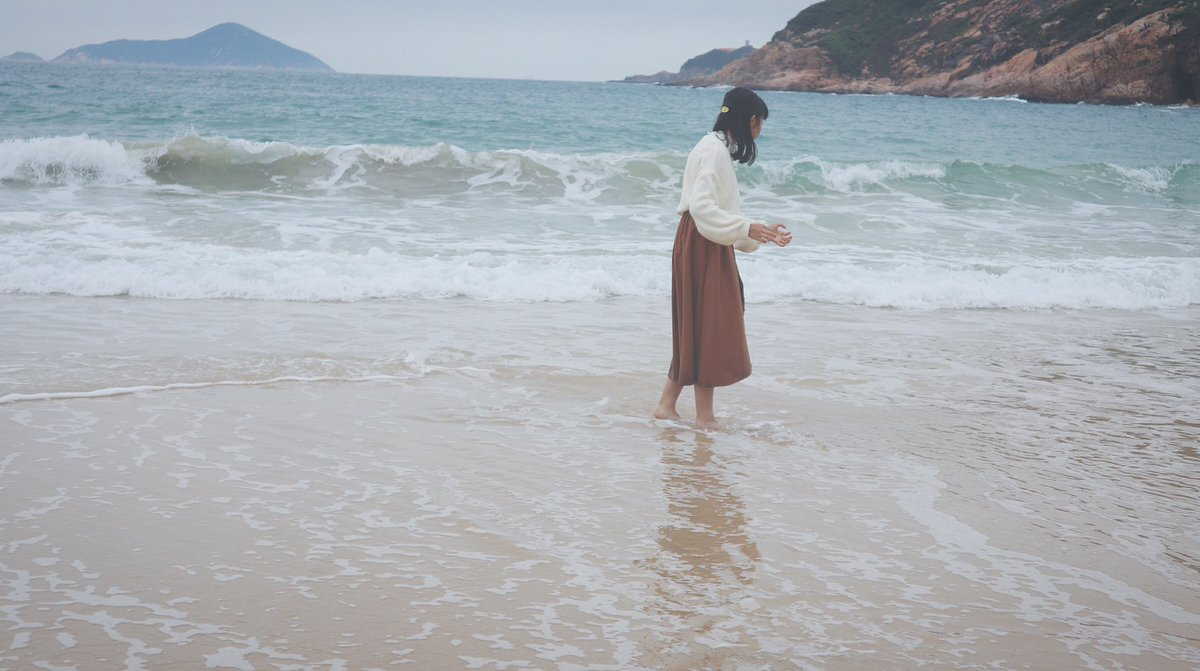 あの日の自分は探して中ですー⛄️ キミに会いたいなぁ💋 . . #beach #海 #sea #嵐 #冬コード