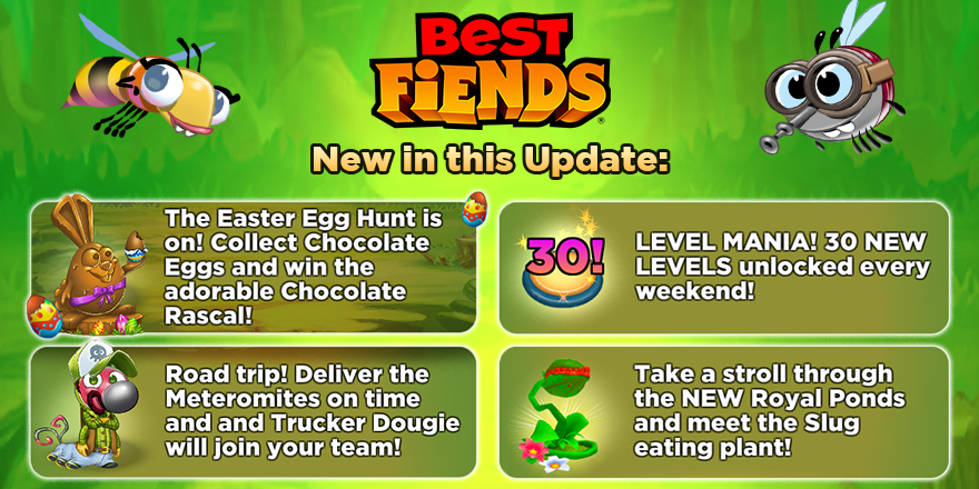 Best Fiends On Twitter Our New Update Is Rolling Out Now Here Is What S New In This Update Update Free Here Https T Co X3u7ljqime
