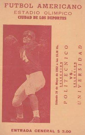RT @GraficaDel: IPN vs UNAM 1952 EN EL OLIMPICO https://t.co/lB0X7jBbxO