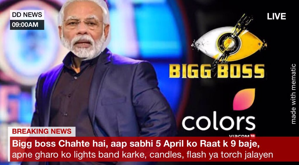 We are actually feeling like this, #PMModi #candle #biggboss @DrKumarVishwas @richaanirudhpic.twitter.com/bsshxquQIn