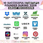 Image for the Tweet beginning: Top 10 successful #startups founded