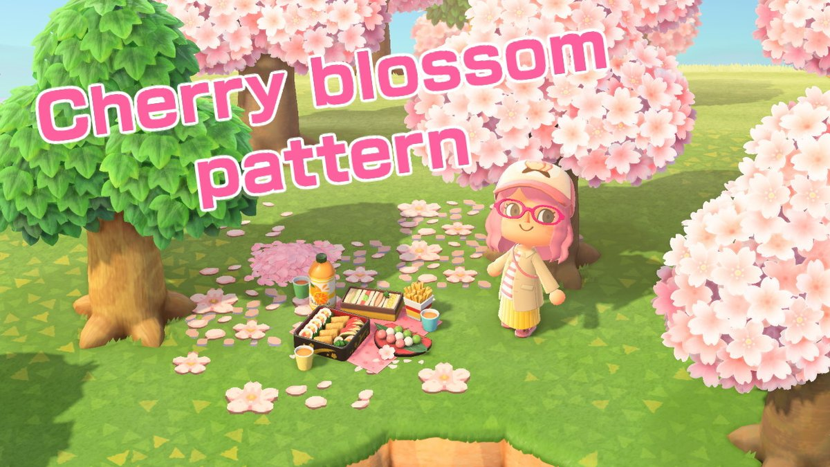 Milkybee On Twitter Cherry Blossom Pattern I Tried To Make