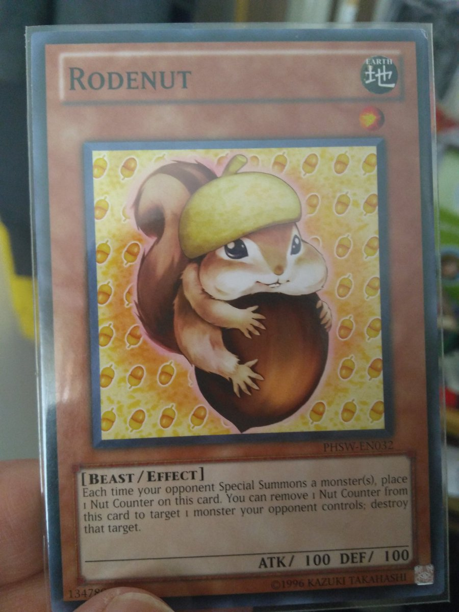 I think I found what card @unbeatablesg would use when playing #yugioh xD