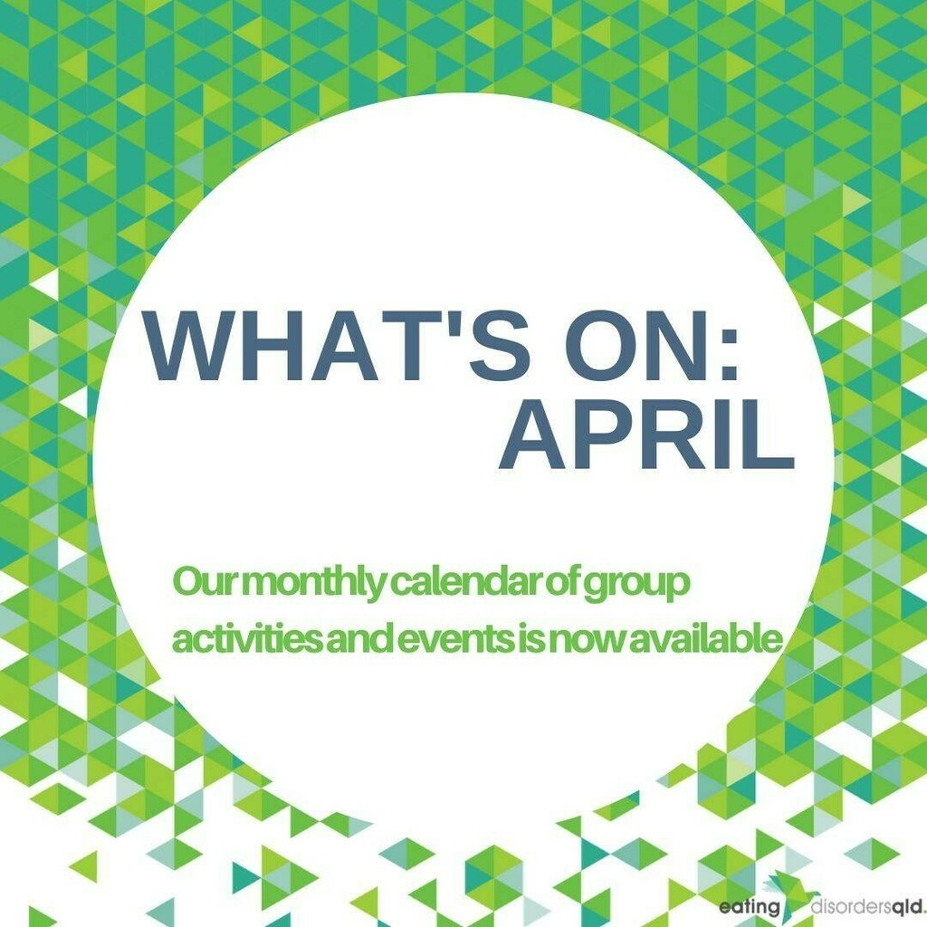 We have updated our April calendar with all new dates to reflect our shift to video services - please visit https://ift.tt/2wNf9PP  to see what we have coming up this month!  #RecoveryisPossible #RecoveryWarriors #EatingDisordersQld #support #hope #Here… https://instagr.am/p/B-gZIHEDOgr/ pic.twitter.com/M3zEbVPKee