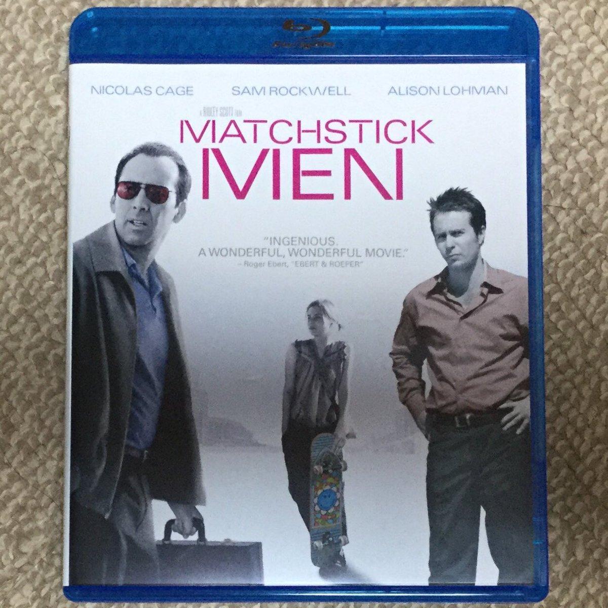 今日のSam Rockwell映画''MATCHSTICK MEN''!詐欺師コンビの物語!ラストに、まさかの大どんでん返しで思わず声が出た!Sam Rockwellいかにも詐欺師!So good! #SamRockwell https://t.co/xQrDyFoEuX