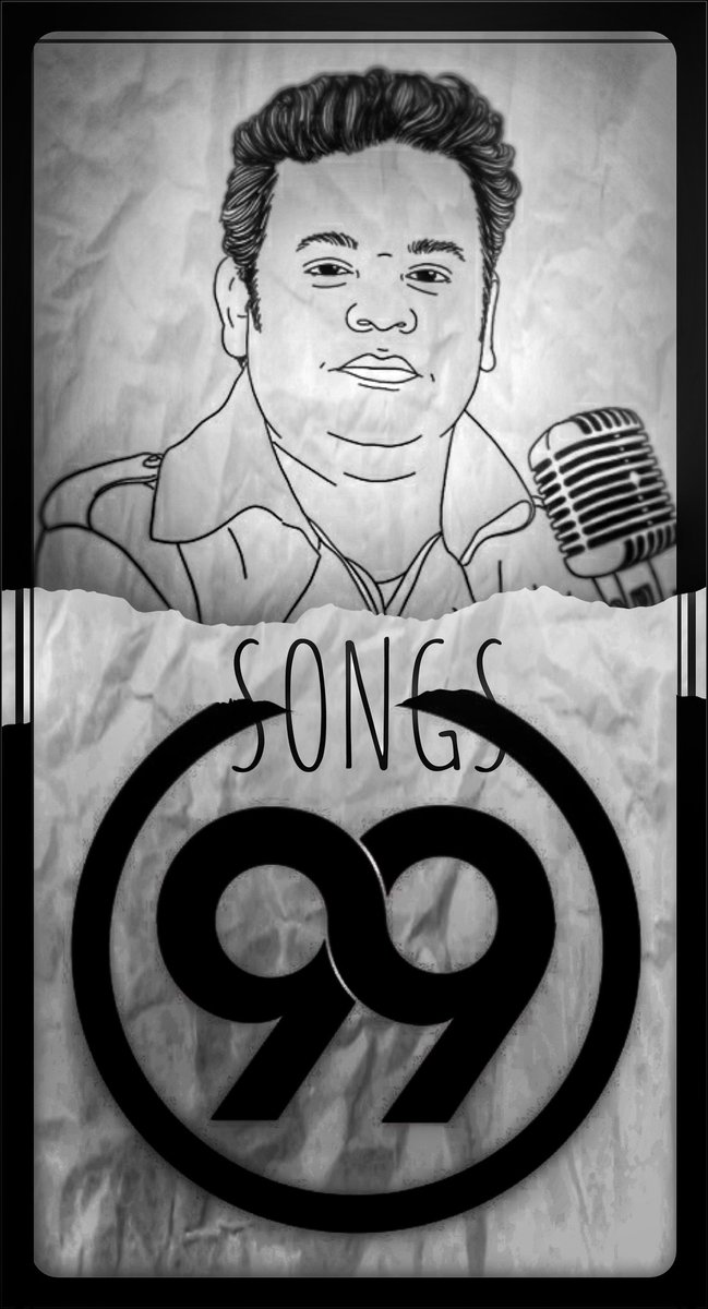 When your ears are tortured by listening to Bollywood remake songs & you badly need something fresh and sooths your ears 🎵 HE APPEARS like a savior🎵 #ARRahman brings #99Songs : A BEAUTY of a Bollywood album🎧 #MusicIsLife #ARR #99songsthemovie • Artwork: MYSELF😉