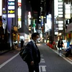 Image for the Tweet beginning: As coronavirus cases rise, Japan