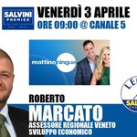 Image for the Tweet beginning: TV > Canale 5  