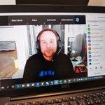 Image for the Tweet beginning: Riihimäki Hackathon 2020 -käynnissä täysin