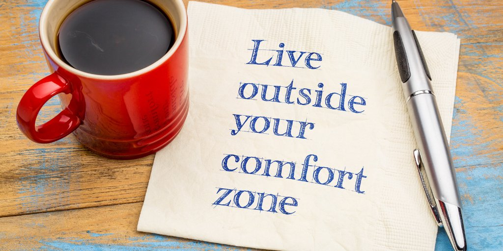 A comfort zone is a beautiful place - but nothing ever grows there #lawofattraction #loa