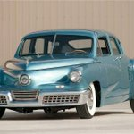Image for the Tweet beginning: The #aerodynamic 1948 #Tucker #Torpedo