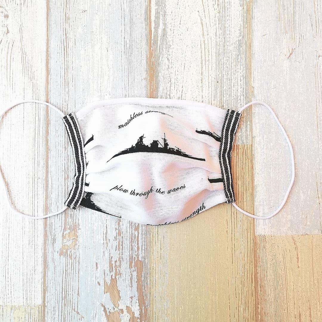 test ツイッターメディア - Seriaさんで 手ぬぐい風タオルと カットクロスを買い マスクを作りました。 #手作りマスク  #Seria #ハンドメイド https://t.co/C8LrSFSCD3