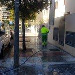 Image for the Tweet beginning: 💦 Buen viernes, #Alcorcón.  Vamos terminando