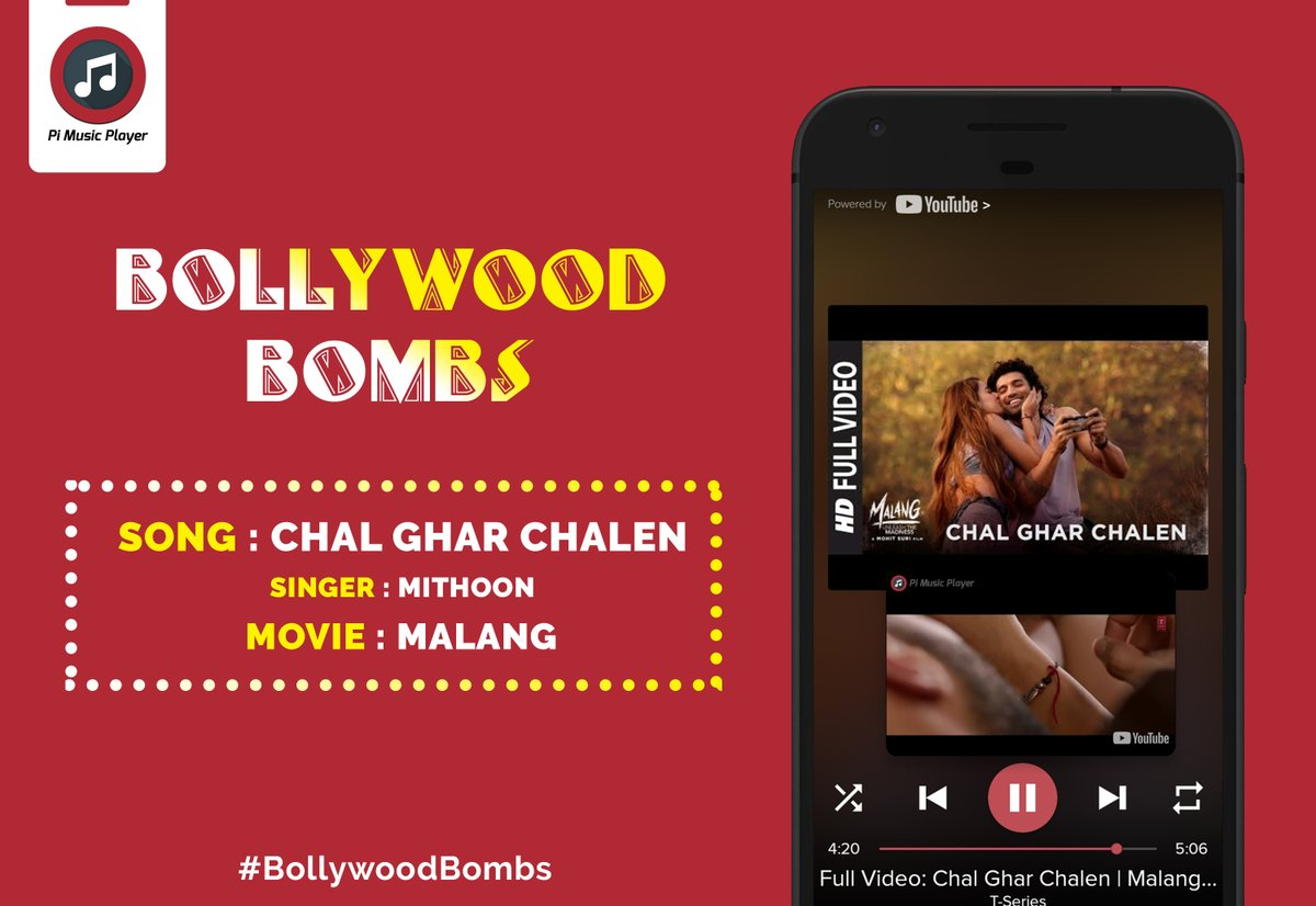 Pi Music Player On Twitter Chal Ghar Chalen Lyrics Is A Song From The Latest Bollywood Movie Malang It Was Sung By Arijit Singh Featuring Aditya Roy Kapur And Disha Patani The
