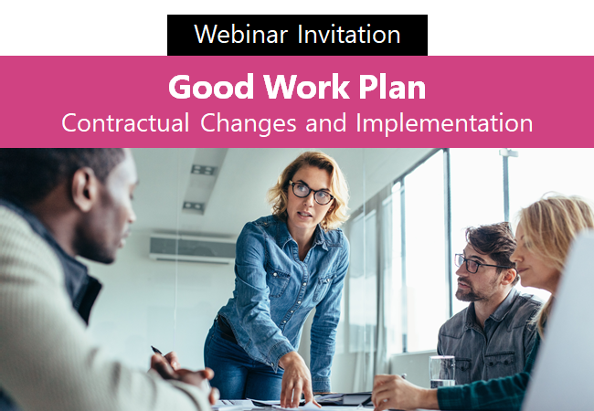 Sign up for free HR webinar:  Good Work Plan - Contractual Changes and Implementation.  https://www.hrsolutions-uk.com/upcoming-webinars/…  #HRWebinars #HRAdvice #HRGuidance #GoodWorkPlan #EmploymentLaw @ChamberMK @NorthantsCoCpic.twitter.com/mWQPEmhmeX